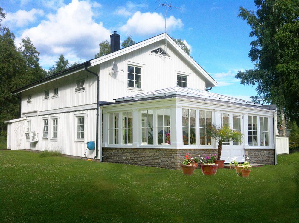 bygga ihop hus med uthus