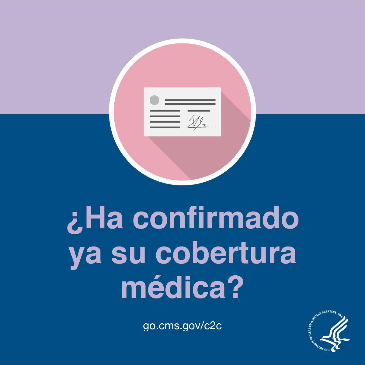 Tiene Cobertura Medica Confirme Su Cobertura Medica Para Poder