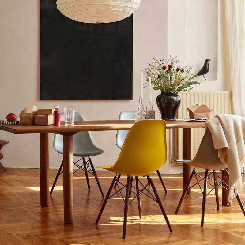 Vitra Eames Plastic Chair Dsw Erable Noir Eames Vitra Chair Inspirationdesign Salleamanger Dsw Mobili Sedia Vitra Sedia Eames