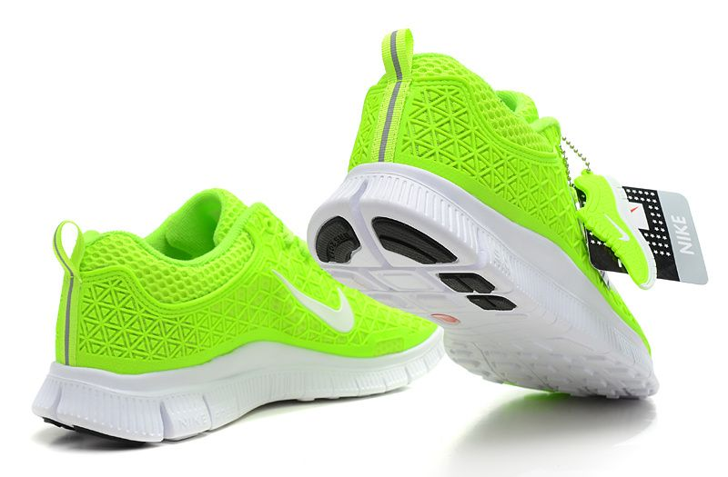 Womens Nike Free 6.0 Volt Neon Green White