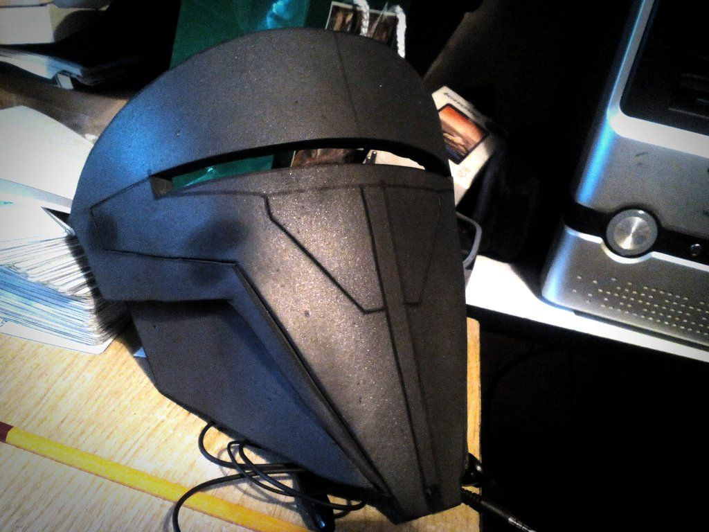 how to make a darth revan mask
