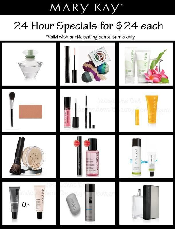 $24 promotion  Visit website 24/7 at www.marykay.com/sambroise