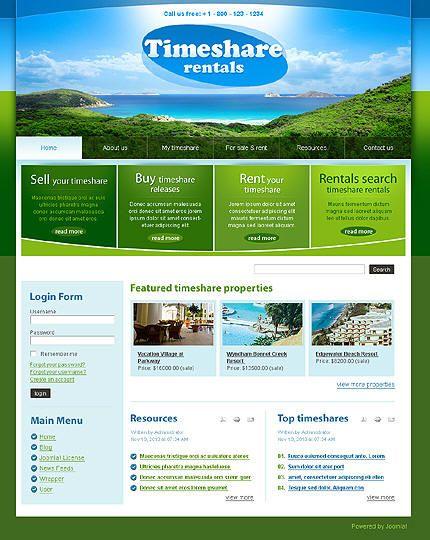 diseño pagina web agencia de viajes | diseño web | pinterest