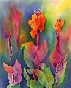 Tessa spantons silk cannas silk painting pinterest silk silk gallery silk paintingsilk mightylinksfo