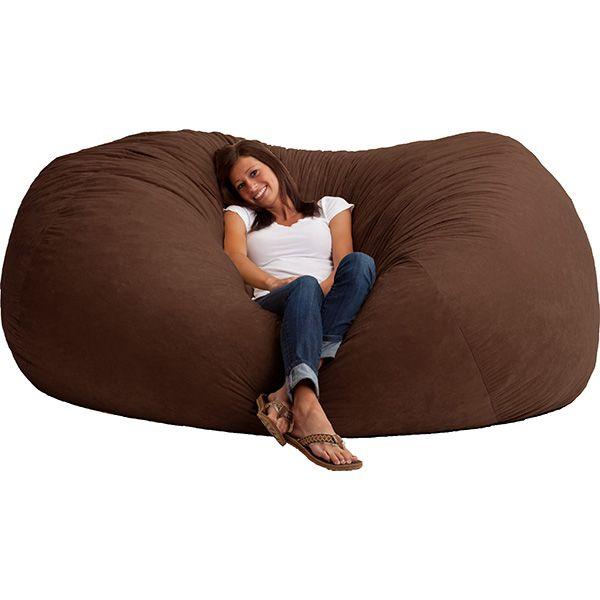 Cool Huge Bean Bag Chair Comfort Zone Bean Bags Extra Machost Co Dining Chair Design Ideas Machostcouk