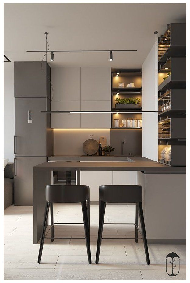 small kitchen ideas modern color