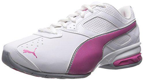 Puma Tazon 6 El entrenamiento cruzado de zapatos, Black/Silver, 40.5