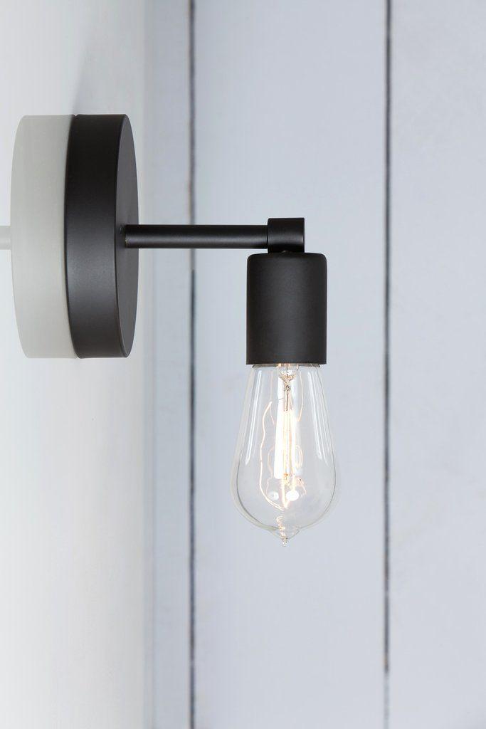 Matte Flat Black Sconce Wall Light Black Sconces Bathroom
