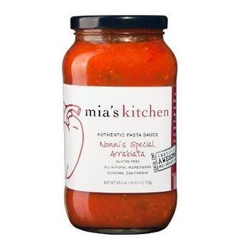 Mia's Kitchen Nonnis Special Pasta Sauce (6x25.5Oz)