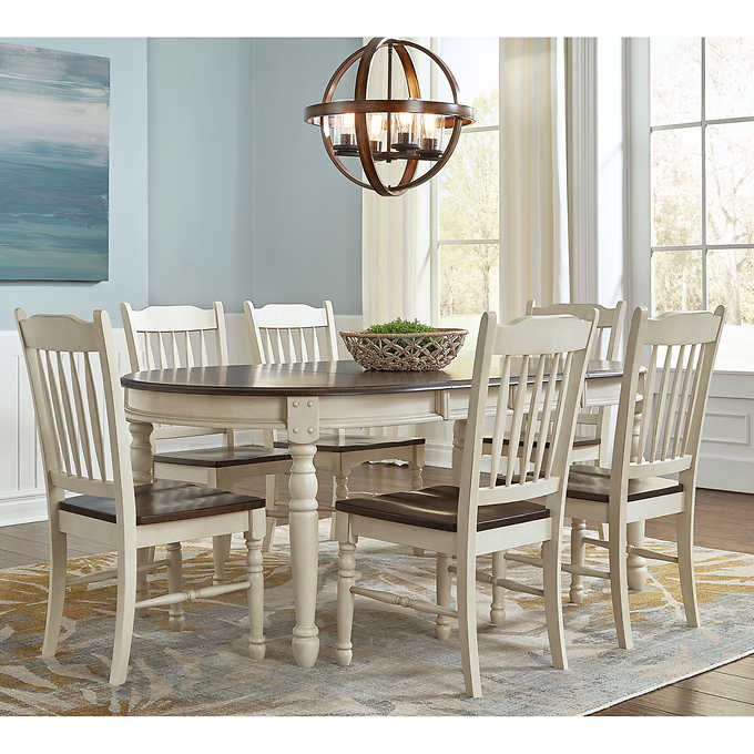 Bluff Point 7 Piece Dining Set Dining Room Sets Dining Room Remodel 7 Piece Dining Set