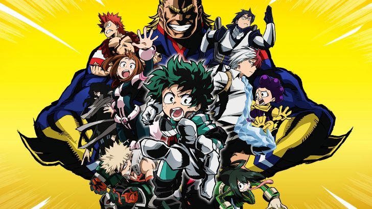 My Hero Academia Anime Uhd 4k Wallpaper 3840x2400 Wallpaper Ponsel