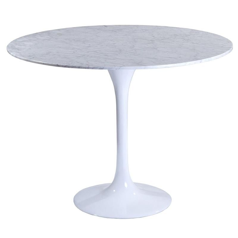 Odyssey 36 Round Dining Table Marble Tulip Dining Table Modern Dining Table Dining Table In Kitchen