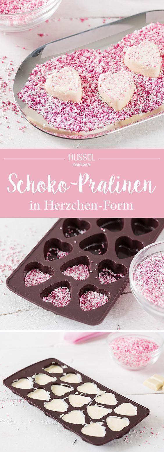Schoko-Pralinen Herzen – Super schnell und einfach selbst gemacht! #dessertfacileetrapide
