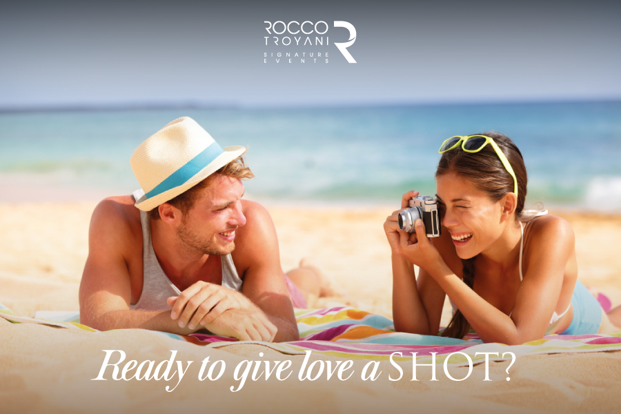 Here is where you start to relax and find the truly mean of love. #SignatureWeddings #SignatureEvents roccotroyani.com