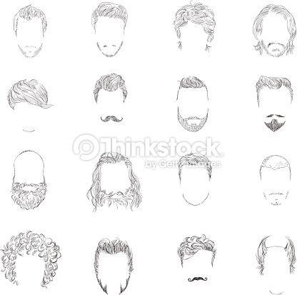 Peinados de hombre con dibujos
