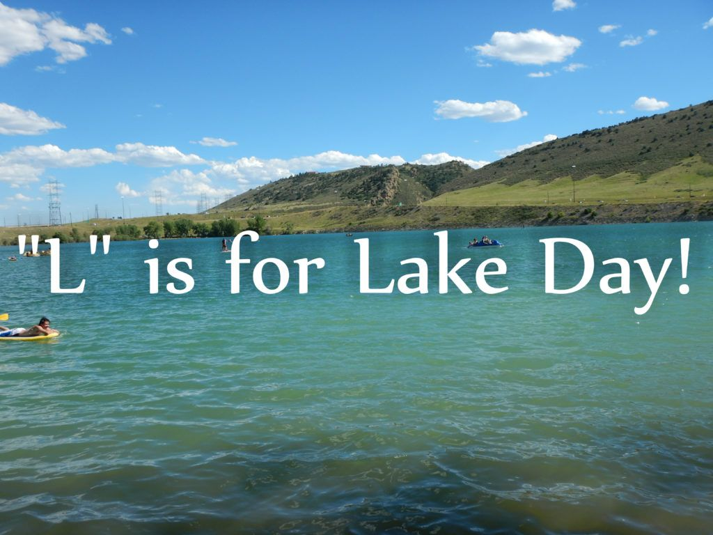 """L"" is for Lake Day :http://jebamyadventures.com/l-is-for-lake-day/"