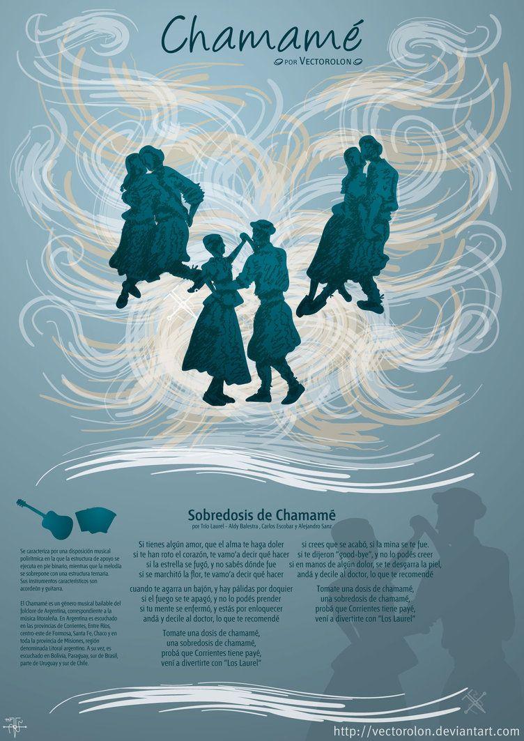 Chamame Vector By Vectorolon Arte Folclore Y Deviantart