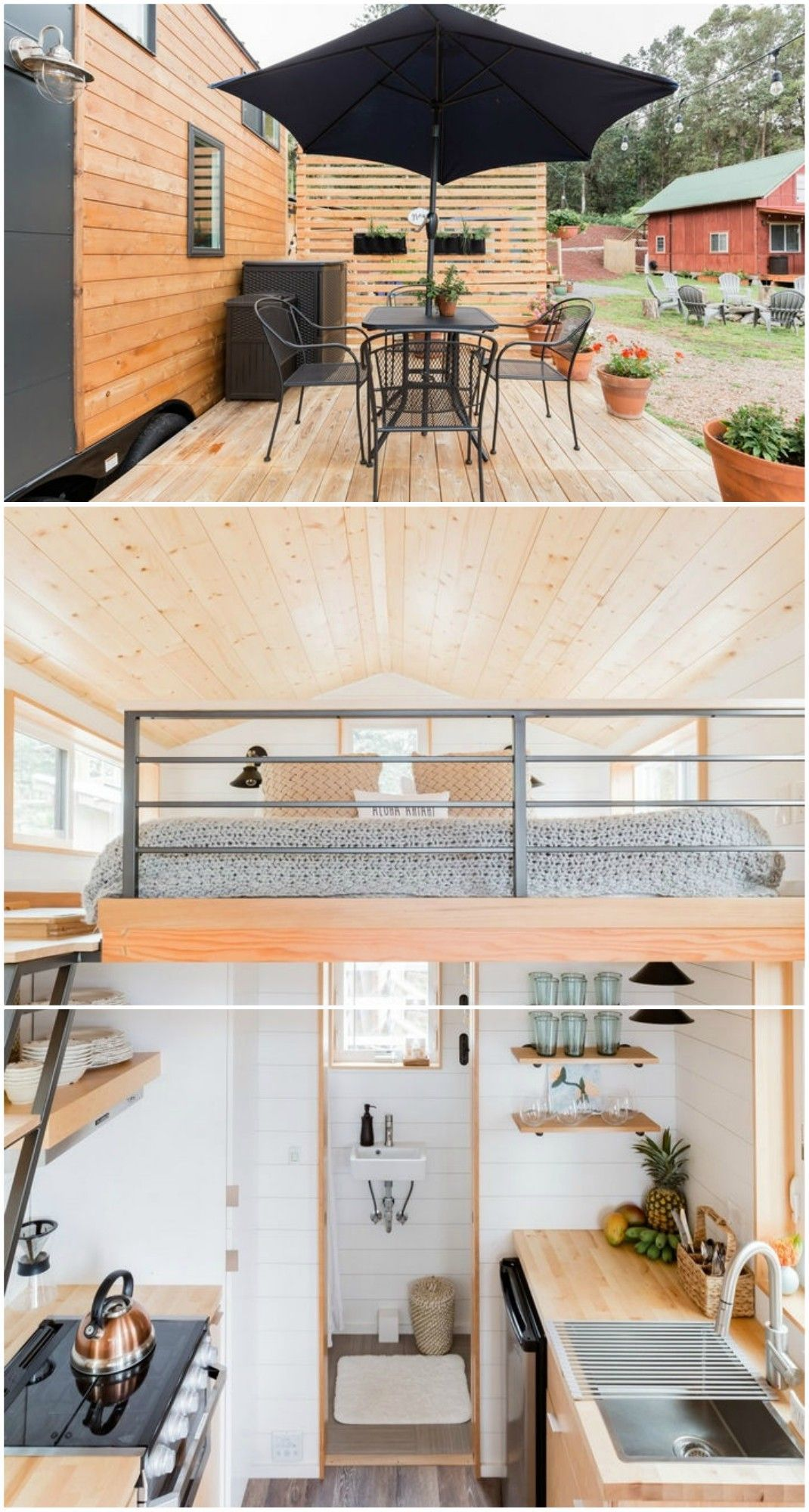 15 Amazing Tiny Houses You Can Rent On Airbnb Tiny House House Furniture Details Design