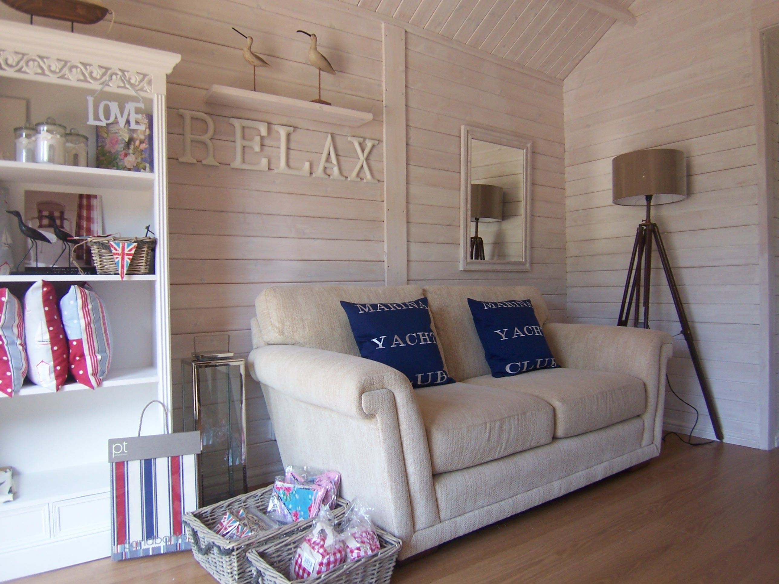 The Beach Hut Office in Rural South Lincolnshire | Beach huts, Beach ...