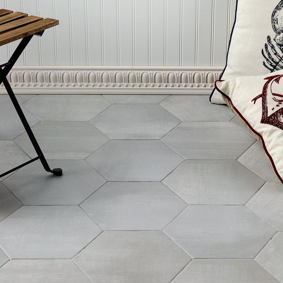 Paige Avorio 10 French Country Bathroom Concrete Look Tile Flooring