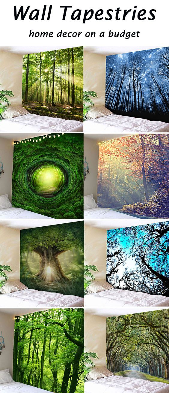 Wall Tapestries Home Decor On A Budget Deco En 2019