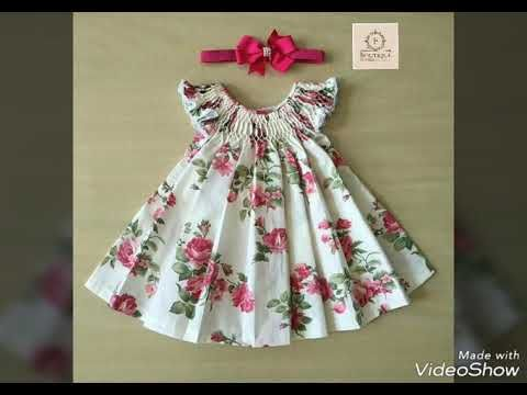 ffb5f00cd108 How to make BABY Dress for girl tunic top baby frock designing tutorial  LATEST SUMMER DRESS DESIGN - YouTube