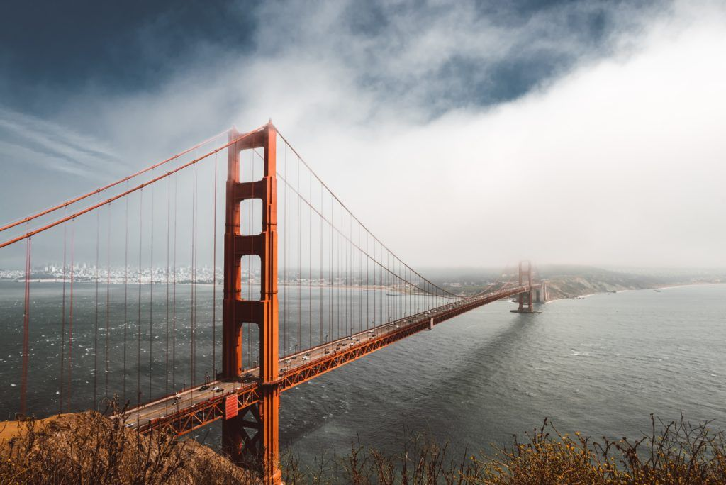 Golden Gate Bridge Ultra Hd Wallpaper Road Trip Usa California Coast Road Trip California Travel