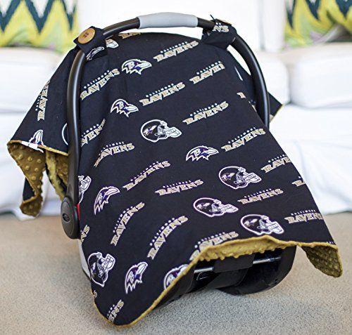 Baltimore Ravens Baby Blanket