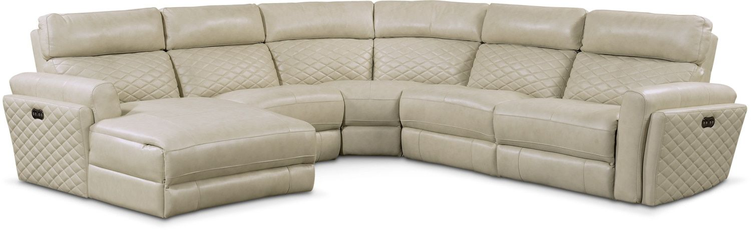 Surprising Catalina 5 Piece Power Reclining Sectional With Left Facing Pdpeps Interior Chair Design Pdpepsorg