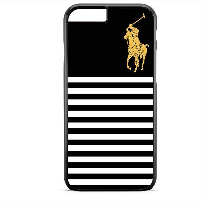 Ralph Lauren Emblem Style Black TATUM-9137 Apple Phonecase Cover For Iphone SE Case