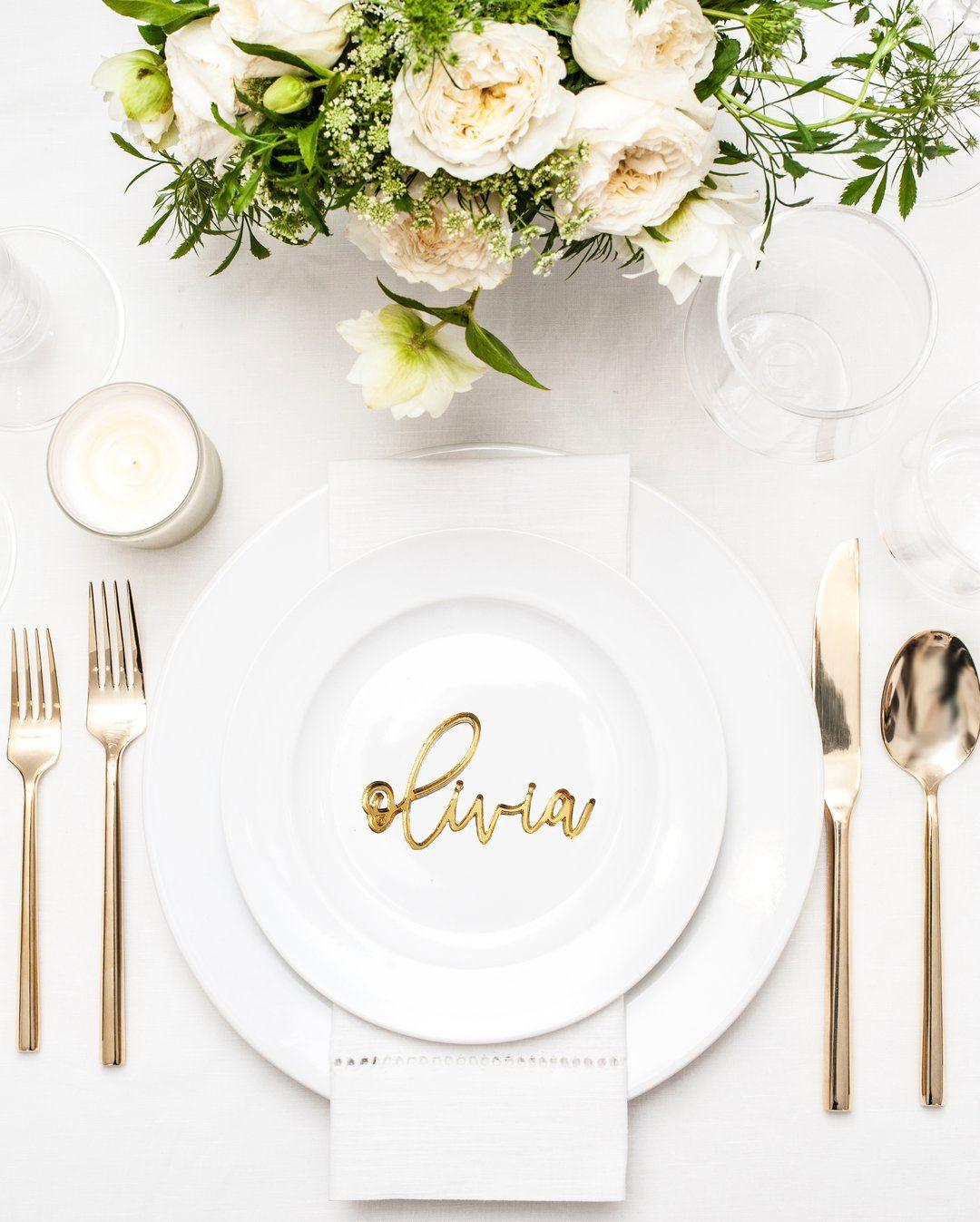 Wedding Place Names Wedding Table Decor Custom Wood Wedding Birthday Place Tags Names Wedding Name Tags Wedding Decor Geometric Names