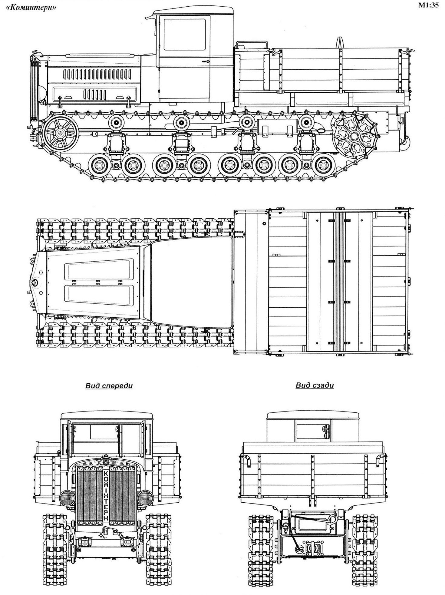 Komintern bp1 id505 blueprints pinterest vehicle komintern bp1 id505 malvernweather Images
