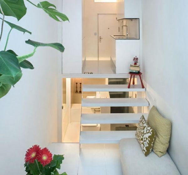 Kleine Wohnung einrichten - die Raumhöhe benutzen und Platz sparen ...