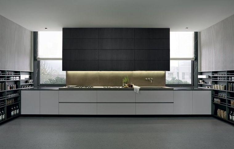 Diseñar cocinas con detalles y muebles de color negro Reformas - ballerina küchen preise
