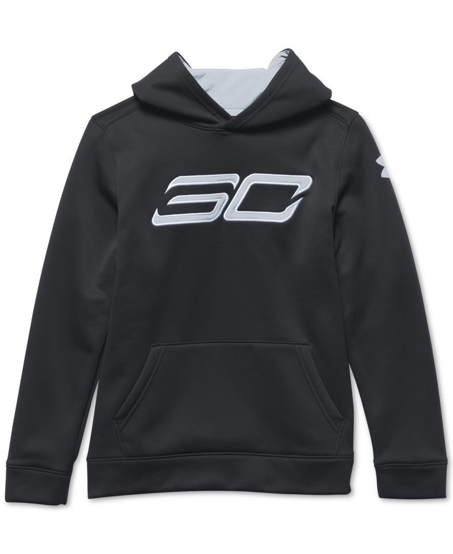 buy online a303a 06277 Under Armour Boys' Steph Curry SC30 Essentials Hoodie | NBA ...
