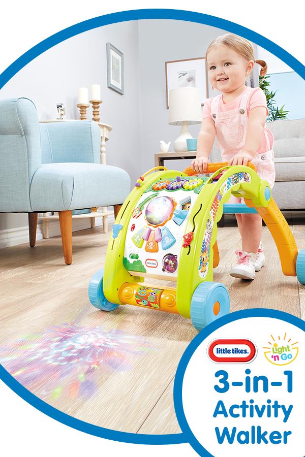 Light N Go 3 In 1 Activity Walker Toddler Toys Cool Toys Best Kids Toys