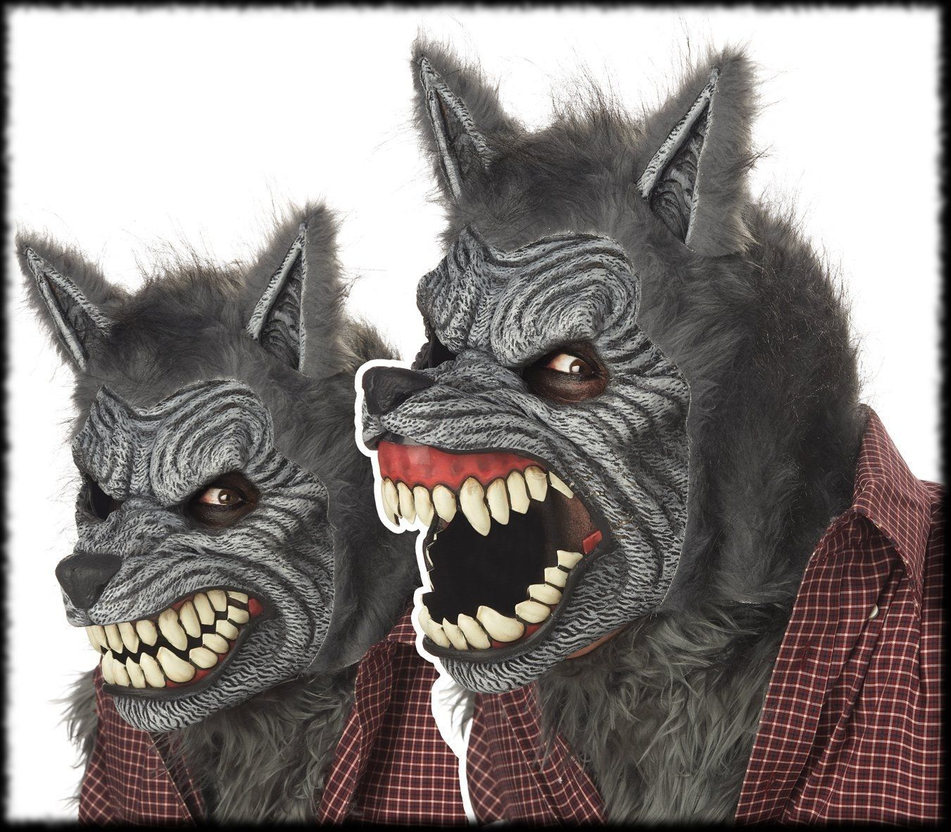 Animated Moving Werewolf Halloween Mask! Yup, this line of ...