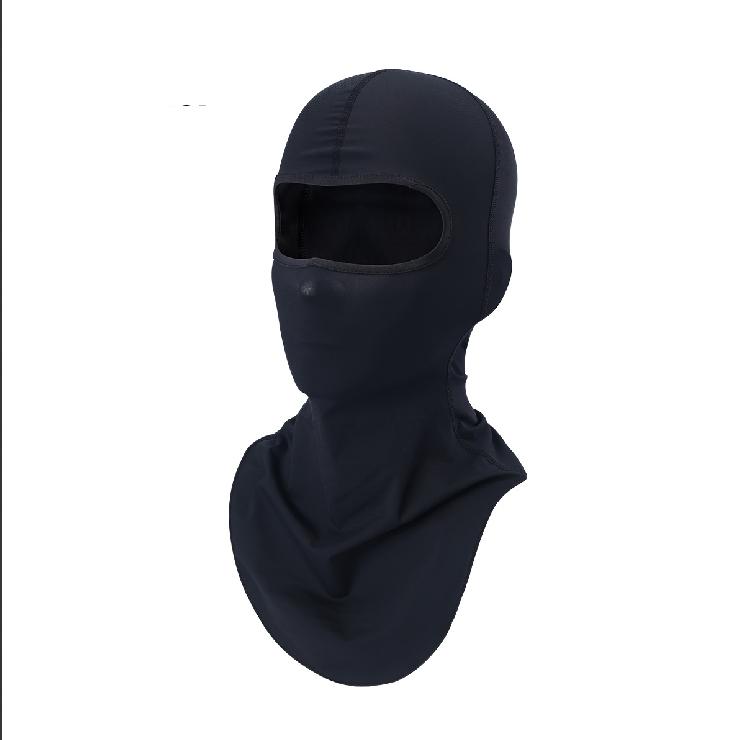 Men Black Full Face Mask Carace Motorcycle Face Mask Tactical Paintball Retro Helmet