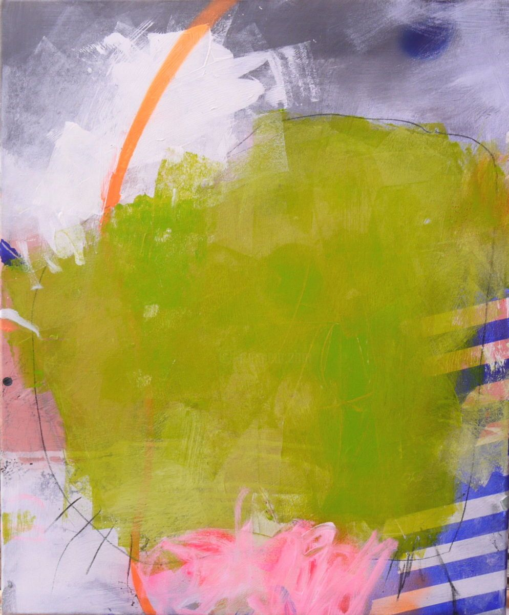Hauptfarben-design-bilder wonderland    peinture xx cm  par daniela
