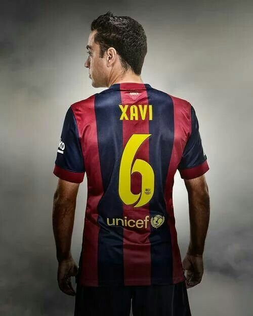 Xavi Hernandez Camisetas Barcelona Xavi Hernandez