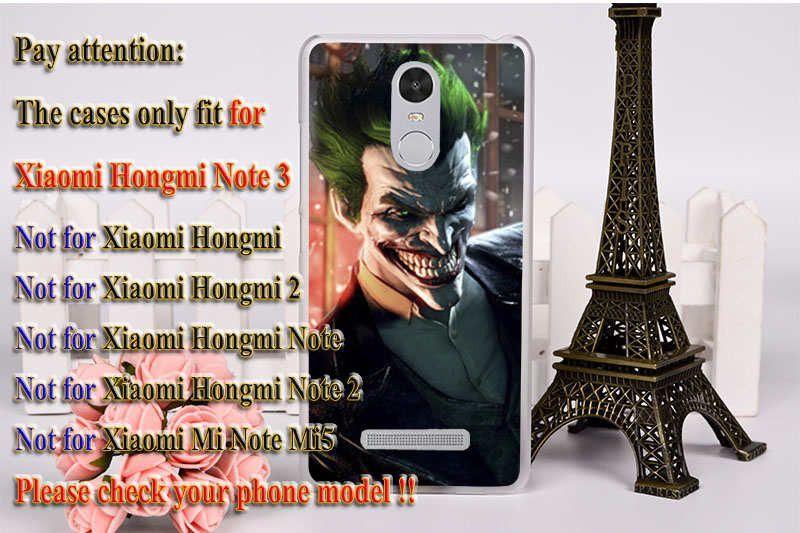 Marvel Captain American Batman Phone Cases For Xiaomi Redmi Note 3 Cover Redmi Note 3 Pro Redmi Note 2 Pro Case Skin Shell Hood