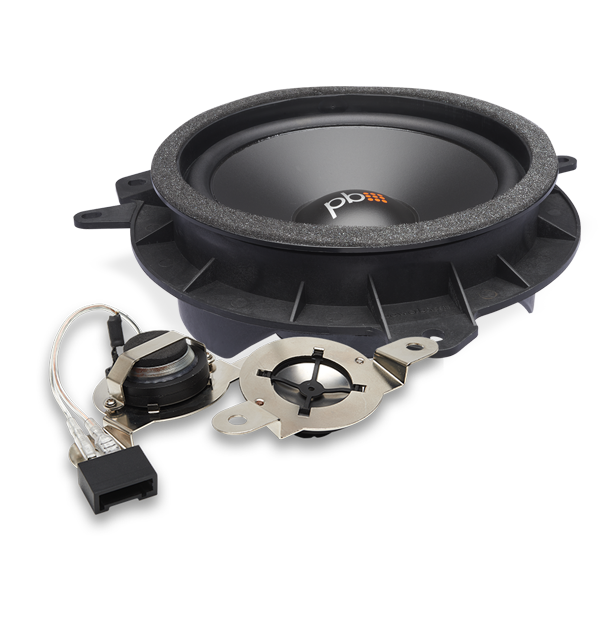 PowerBass OE65C-TY 6.5 120W OE Series 2-Way Component Speaker System #componentspeakers