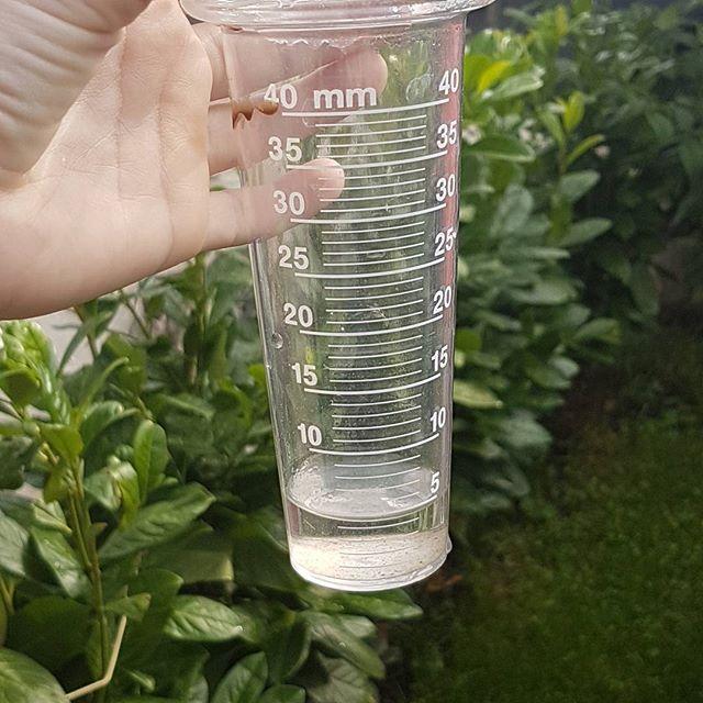 Soviel Hat Es Gestern Bei Uns Geregnet 5 Liter Auf Den Quadratmeter Wir Haben Im Garten Einen Regenmesser Hangen Und Voss Bottle Bottle Sparkling Ice Bottle