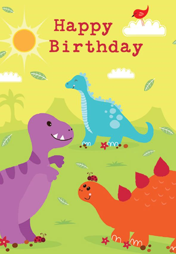 birthday cards design for kids
