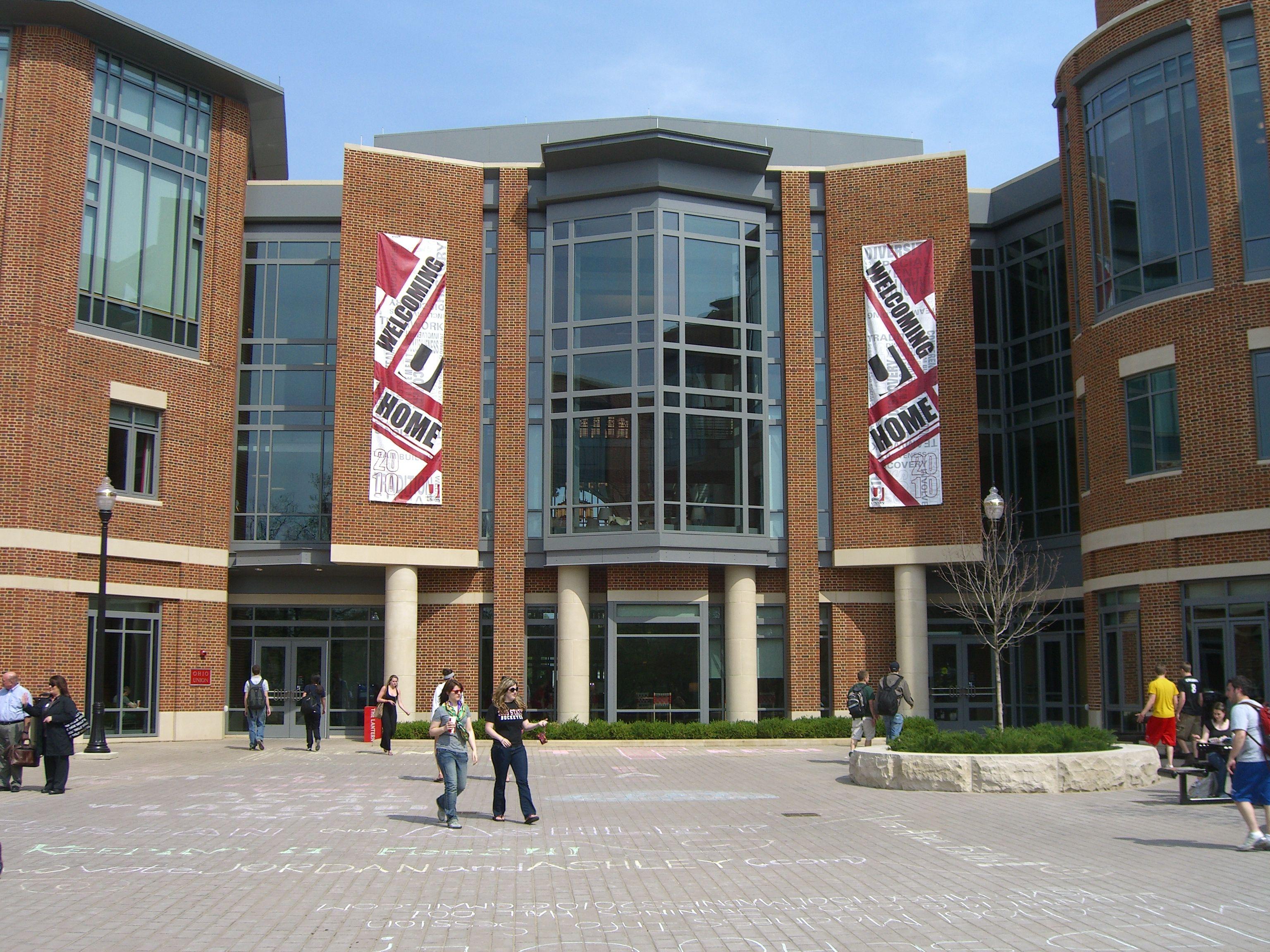 Ohio Union Ohio state university campus, Ohio state, Ohio