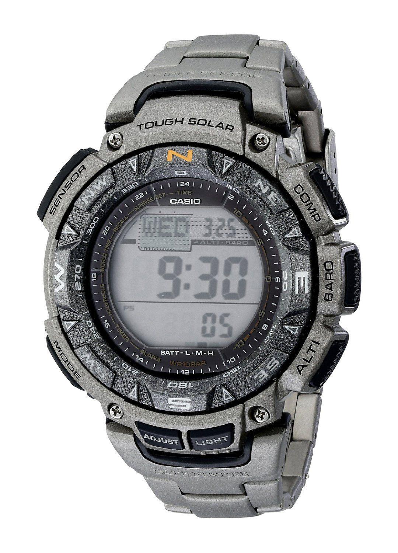 survival watch amazon com 140 00 casio men s pag240t 7cr survival watch amazon com 140 00 casio men s pag240t 7cr pathfinder triple