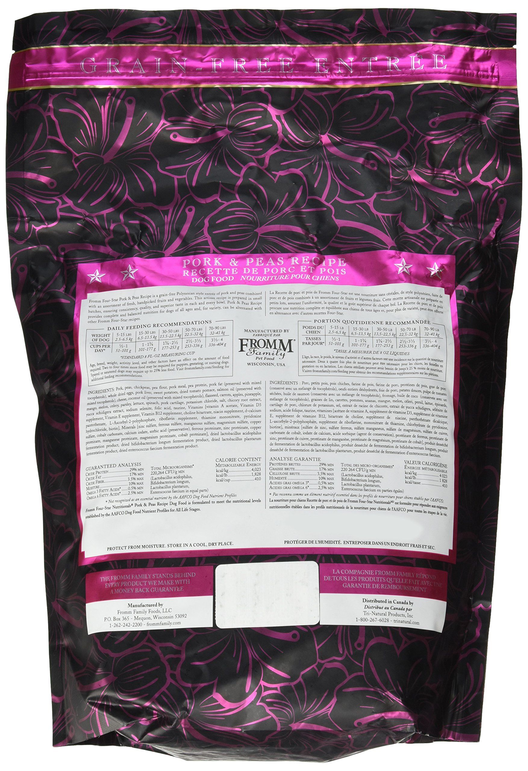 Fromm FourStar Dog Food Pork Peas 4 lb >>> Be sure to