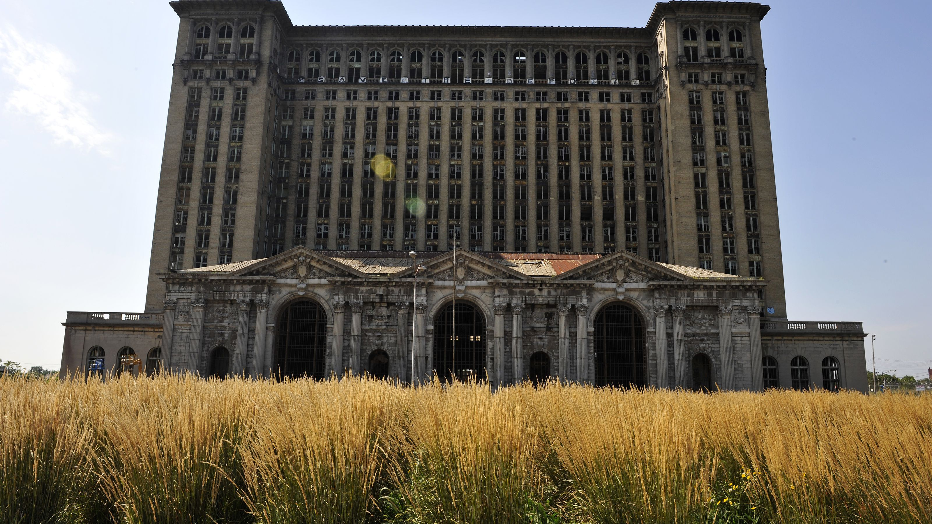 Michigan Central Station: Then & Now