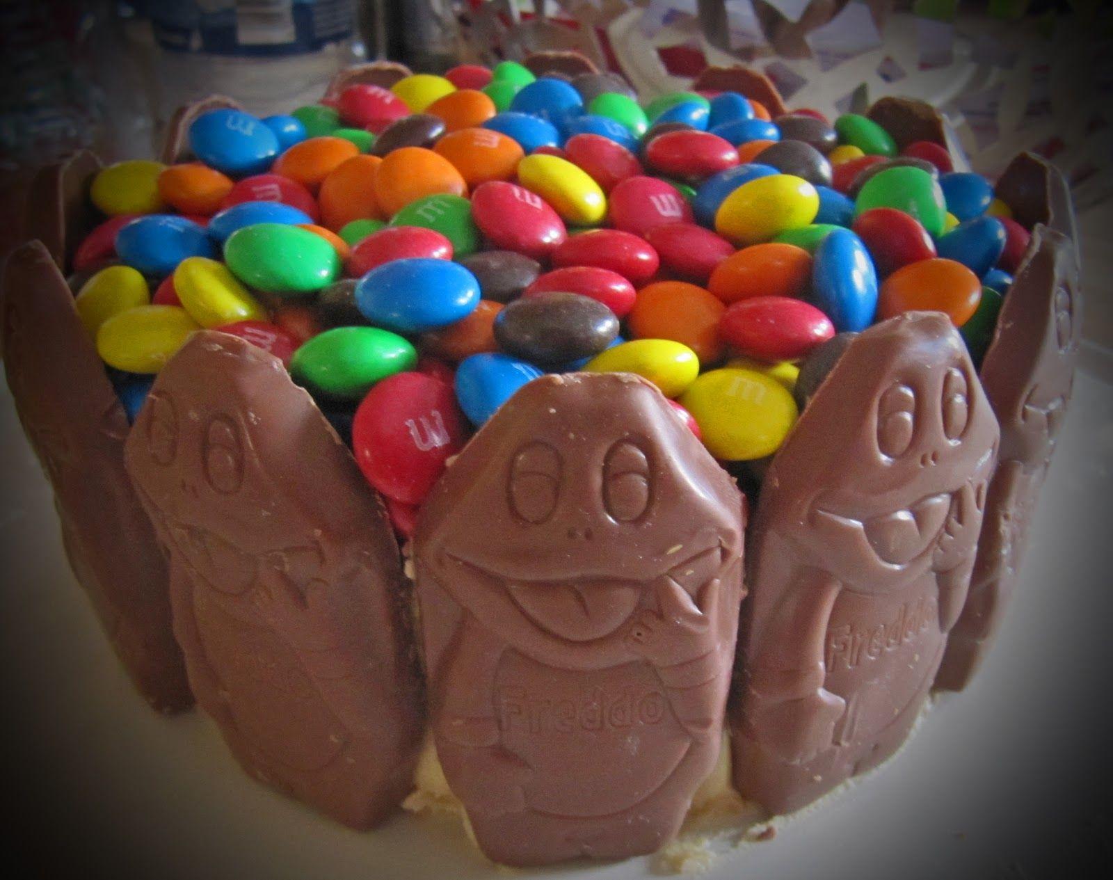 Chocolate Freddo Frog Cake