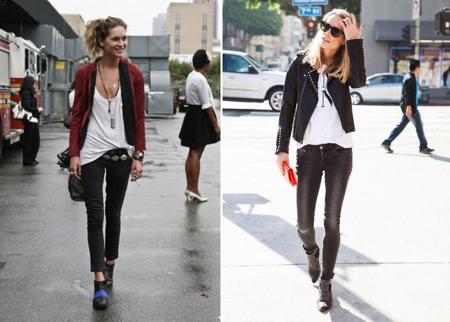 Top Street Style Trends 14 Unbelievable Rock Chic Looks Hof Good Luck Charms Contest